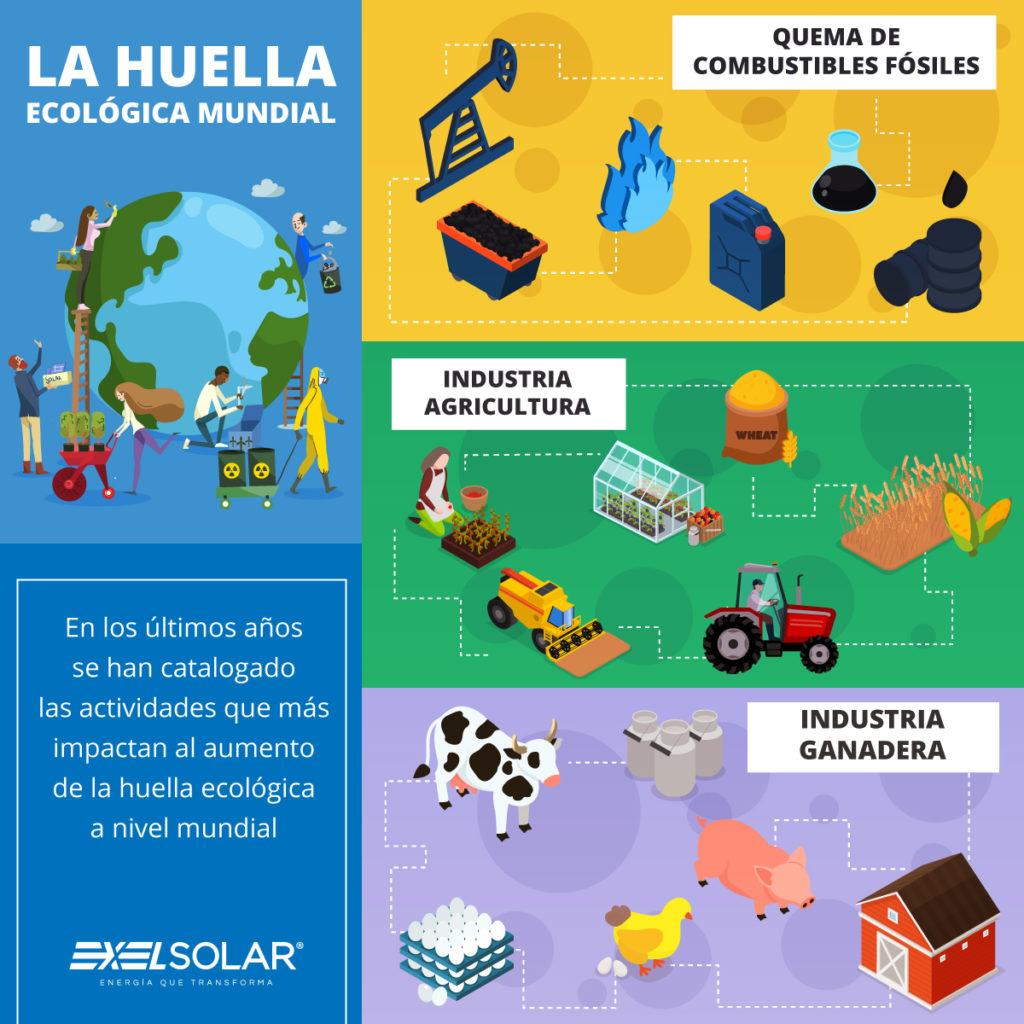 Exel Solar huella ecologic